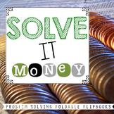 Money Problem Solving Flip Books