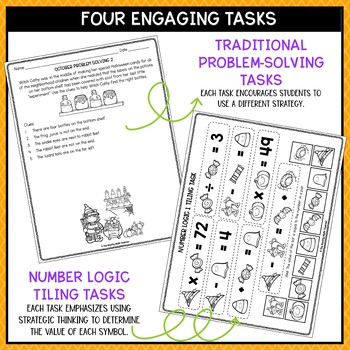 Solve It! October: Problem Solving and Critical Thinking Pack