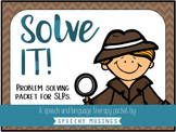 Solve It! Problem Solving Detective Packet