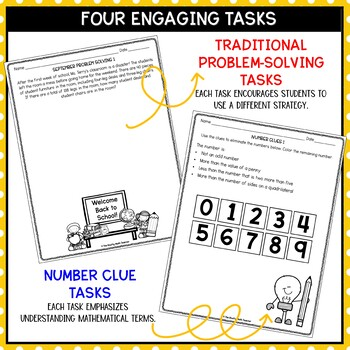 Solve It! September: Problem Solving and Critical Thinking Pack