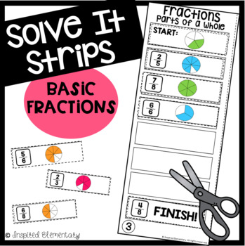 Solve It Strips: Basic Fractions