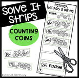 Solve It Strips: Counting Coins