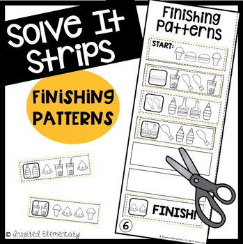 Solve It Strips: Finishing Patterns