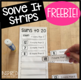 Math Puzzles Solve It Strips® Freebie!