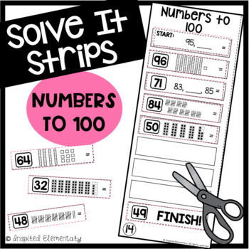 Solve It Strips: Numbers to 100