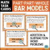 Addition and Subtraction Word Problems Part Part Whole Bar Models