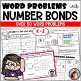 WORD PROBLEMS using NUMBER BONDS (AND MORE)