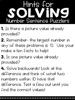 Solve Its: Number Sentence Puzzlers (Vol 12: Addition & Subtraction Within 100)