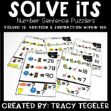 Solve Its: Number Sentence Puzzlers (Vol 12: Addition & Su