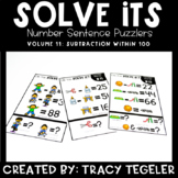Solve Its: Number Sentence Puzzlers (Vol 11: Subtraction W