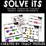 Solve Its: Number Sentence Puzzlers (Vol 2: Subtraction Wi