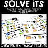 Solve Its: Number Sentence Puzzlers (Vol 6: Addition & Sub