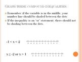 Solve Linear Inequalities