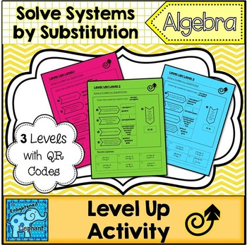 Solve Linear Systems by Substitution Differentiated Level