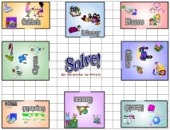 Solve! Multiplication Mystery