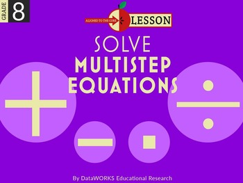 Solve Multistep Equations