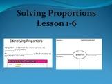 Solve Proportional Relationships Lesson 1-6