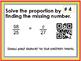 Solve Proportions QR Code reader