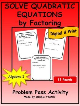 factoring problem solving