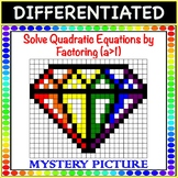 Solve Quadratic Equations by Factoring a>1 Differentiated