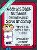 Solve & Snip Personal Use Bundle Grades 2nd-8th Grade (Spanish)