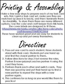 Solve Solve Swap: Behavior Cards - Back to School Activity