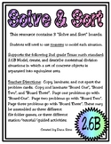 Solve & Sort: Division Situations (TEKS 2.6B)