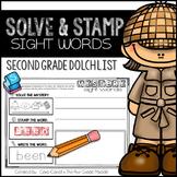 Sight Words - Second Grade