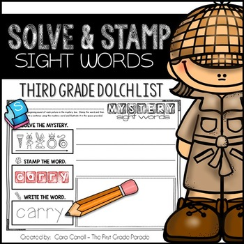 Sight Words - Third Grade