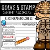 Sight Words - First Grade