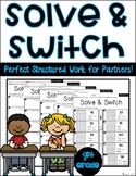 Solve & Switch- Common Core Math Worksheets