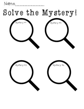 Solve The Mystery- Patterns, and Missing Numbers