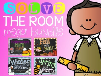 Solve The Room {MEGA Bundle!}