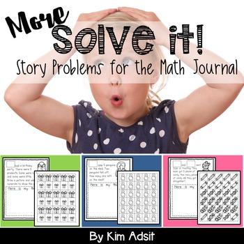 Math Journal Story Problems: Solve It Bundle