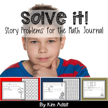 Math Journal Story Problems: Solve It