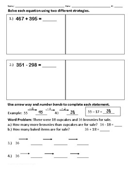 Solve Using Two Different Strategies
