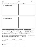 Solve Using Two Strategies - Word Problems