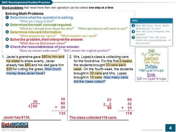 Solve Word Problems