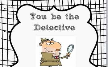 Solve-a-Mystery Graphic Organizer