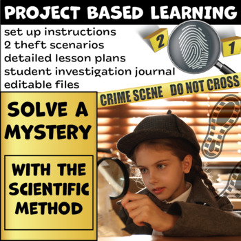 Project Based Learning: Solve a Mystery with Scientific Inquiry