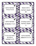 Solve an Equation Task Cards