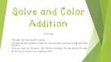 Solve and Color Addition