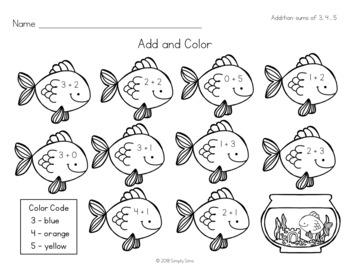 Free Download! Math Solve and Color: Addition and Subtraction