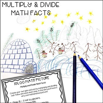 Solve and Color Multiplication and Division | December Math