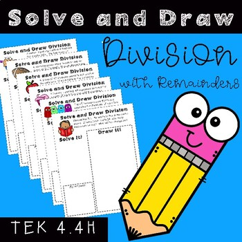 Solve and Draw Division for Math Stations