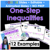 Solve and Graph One Step Inequalities Google Slides