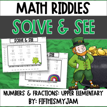 Solve and See Worksheets 5.NF.3