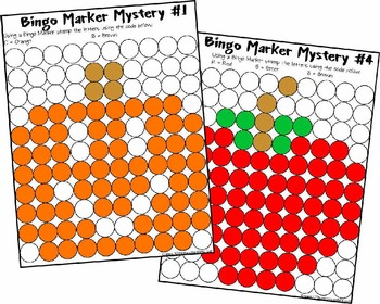Solve and Stamp Math Worksheets with Mystery Pictures!