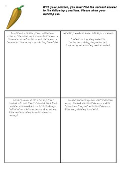 Solve + and - Word Problems Resources