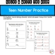 Solve and Write the Room- Teen Numbers (Ten frame and equation version)